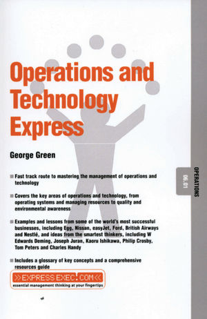 Operations and Technology Express: Operations 06.01