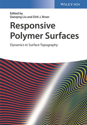 Responsive Polymer Surfaces: Dynamics in Surface Topography (3527338691) cover image