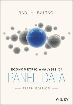 Econometric Analysis of Panel Data, 5th Edition (EHEP003191) cover image