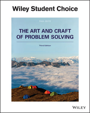 wiley the art and craft of problem solving 3rd edition
