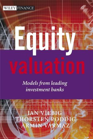 Equity Valuation: Models from Leading Investment Banks (0470031492) cover image
