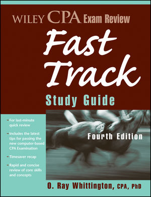 Wiley CPA Exam Review Fast Track Study Guide, 4th Edition