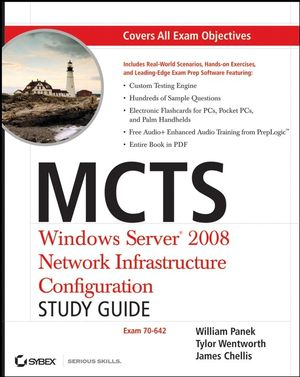 MCTS Windows Server 2008 Network Infrastructure Configuration Study Guide: Exam 70-642 (0470261692) cover image