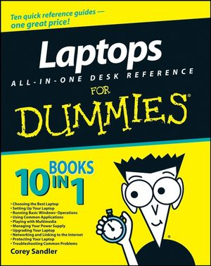 Laptops All-in-One Desk Reference For Dummies (0470383992) cover image