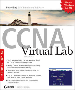 CCNA® Virtual Lab, Titanium Edition 2.0: (Exam 640-802) (0470392592) cover image
