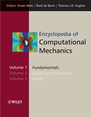 Encyclopedia of Computational Mechanics, 3 Volume Set (0470846992) cover image