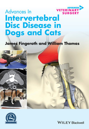 Advances in Intervertebral Disc Disease in Dogs and Cats (0470959592) cover image