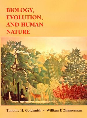 Biology, Evolution, and Human Nature (0471182192) cover image
