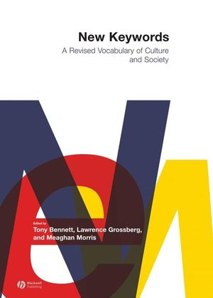 New Keywords: A Revised Vocabulary of Culture and Society (0631225692) cover image