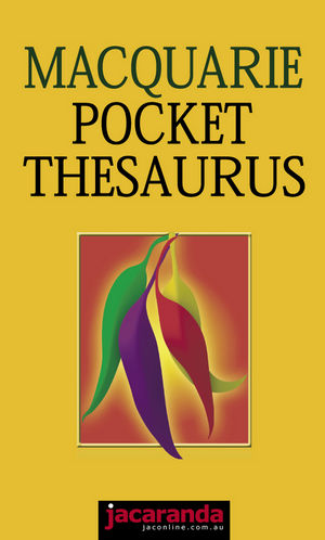 Macquarie Pocket Thesaurus
