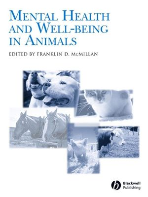 Mental Health and Well-Being in Animals (0813804892) cover image