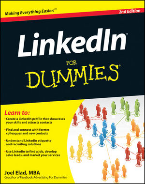 LinkedIn For Dummies, 2nd Edition (1118038592) cover image