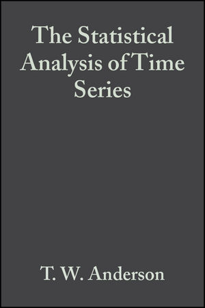 The Statistical Analysis of Time Series (1118150392) cover image