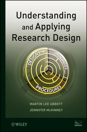 Understanding and Applying Research Design (1118605292) cover image