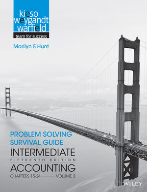 Problem Solving Survival Guide to accompany Intermediate Accounting, Volume 2: Chapters 15 - 24, 15th Edition