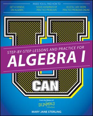 U Can: Algebra I For Dummies (1119063892) cover image