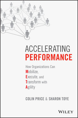 Accelerating Performance: How Organizations Can Mobilize, Execute, and Transform with Agility (1119147492) cover image