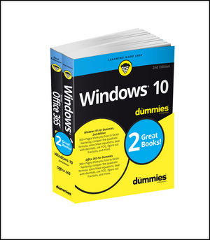 Windows 10 & Office 365 For Dummies, Book + Video Bundle (1119386292) cover image