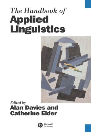 The Handbook of Applied Linguistics (1405138092) cover image