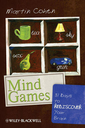 Mind Games: 31 Days to Rediscover Your Brain (1444337092) cover image