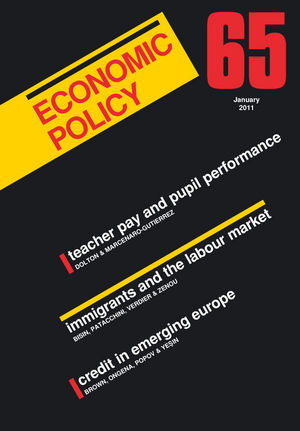 Economic Policy 65 (1444338692) cover image