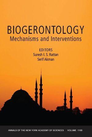 Biogerontology: Mechanisms and Interventions, Volume 1100