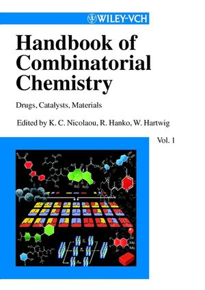 Handbook of Combinatorial Chemistry: Drugs, Catalysts, Materials, 2 Volume Set (3527305092) cover image
