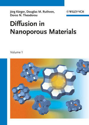 Diffusion in Nanoporous Materials, 2 Volume Set (3527651292) cover image
