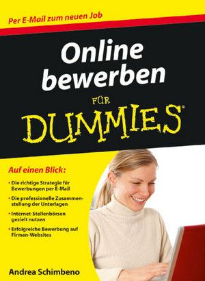 Online bewerben fur Dummies