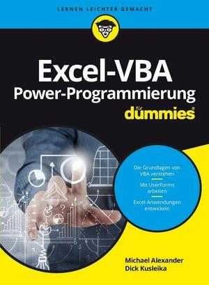 Excel-VBA Alles in einem Band für Dummies | Microsoft Excel | Office ...