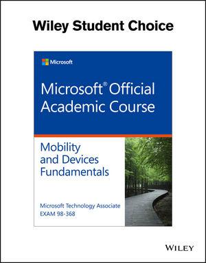 Exam 98-368 MTA Mobility and Device Fundamentals (EHEP003692) cover image