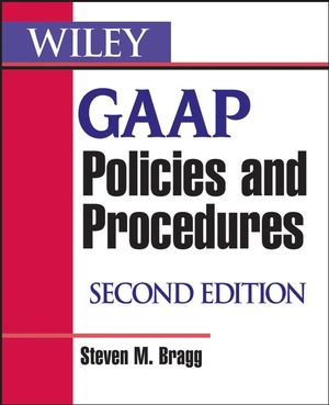 Wiley GAAP Policies and Procedures, 2nd Edition (0470151293) cover image
