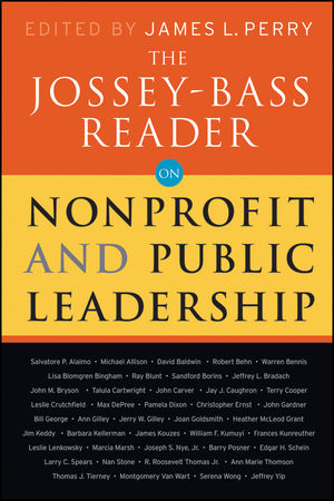 The Jossey-Bass Reader on Nonprofit and Public Leadership (0470479493) cover image