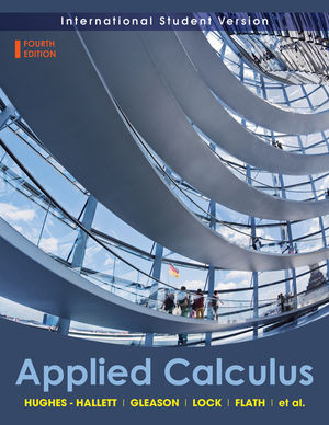 Applied Calculus, International Student Version, 4th Edition