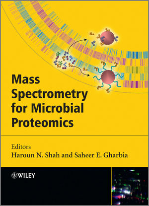Mass Spectrometry for Microbial Proteomics (0470681993) cover image