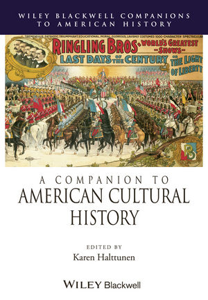 A Companion to American Cultural History (0470691093) cover image