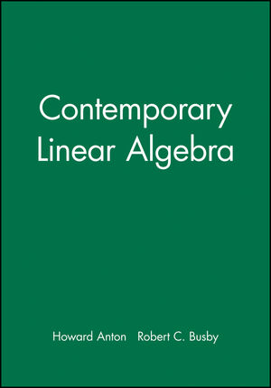 Student Solutions Manual to accompany Contemporary Linear Algebra (0471170593) cover image