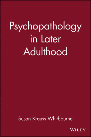 Psychopathology in Later Adulthood (0471193593) cover image