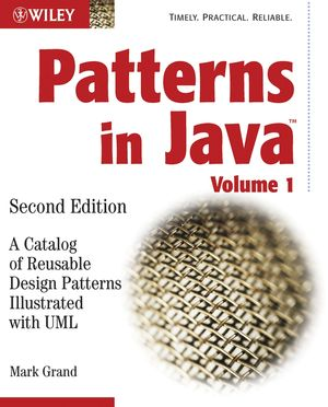 Patterns in Java: A Catalog of Reusable Design Patterns Illustrated with UML, 2nd Edition, Volume 1 (0471227293) cover image