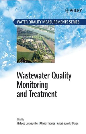 Wastewater Quality Monitoring and Treatment (0471499293) cover image