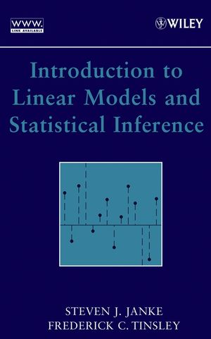 Introduction to Linear Models and Statistical Inference (0471662593) cover image