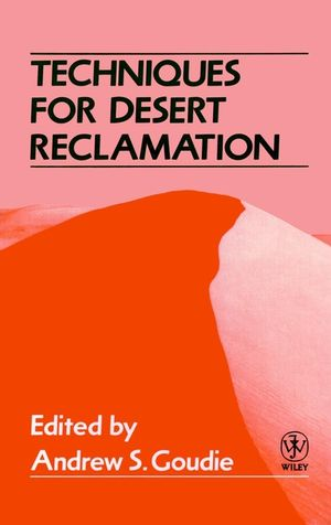 Techniques for Desert Reclamation (0471921793) cover image