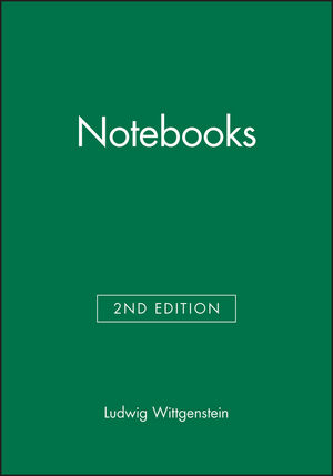 Notebooks, 1914 - 1916, 2nd Edition