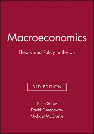 Macroeconomics: Theory and Policy in the UK, 3rd Edition (0631200193) cover image