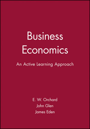 Business Economics: An Active Learning Approach (0631201793) cover image