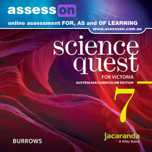 Assesson Science Quest 7 Australian Curriculum Victorian Edition (Online Puchase)