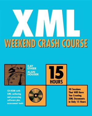 XML Weekend Crash Course (0764547593) cover image