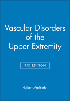 Vascular Disorders of the Upper Extremity, 3rd Edition (0879934093) cover image
