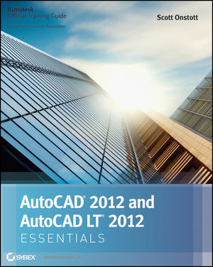 AutoCAD 2012 and AutoCAD LT 2012 Essentials (1118016793) cover image