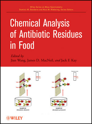 Chemical Analysis of Antibiotic Residues in Food (1118067193) cover image